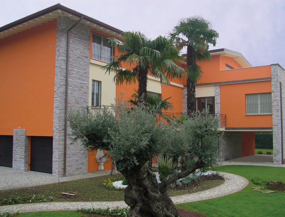 Facciate case rustiche with facciate case rustiche le for Piani casa americana